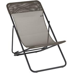 Lafuma Mobilier Maxi Transat Campingstol Batyline grå